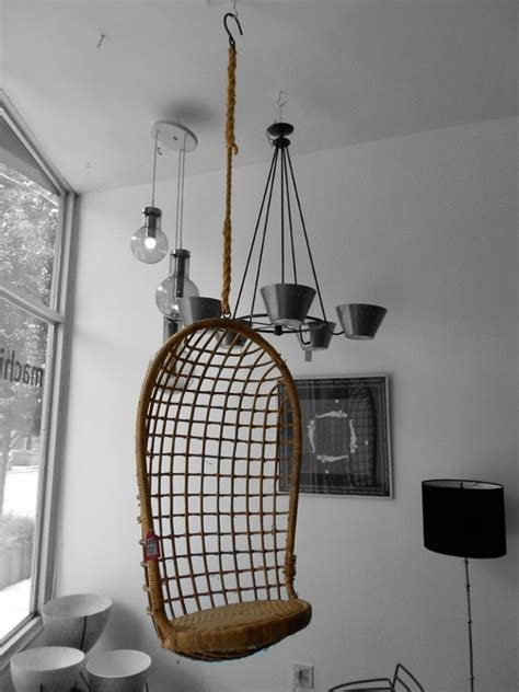lounge rattan hanging chair room decorating ideas
