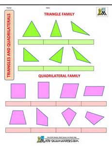 Quadrilateral Shapes and Names for Kids
