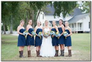 navy blue bridesmaid navy blue bridesmaid dresses with cowboy boots cherry