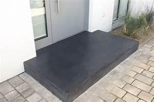 Gartenmauern Aus Beton : eingangspodeste aus beton sorgen f r einen beeindruckenden ~ Michelbontemps.com Haus und Dekorationen