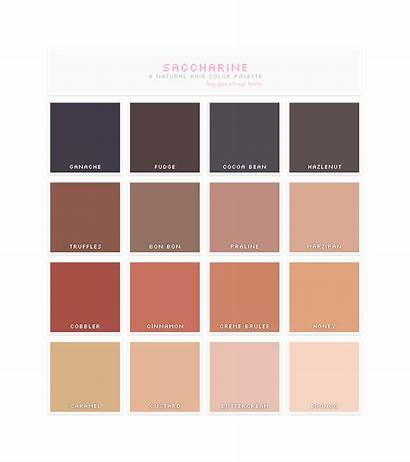 Pastry Natural Hair Box Sims Cc Palette