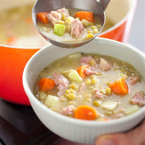 split pea  ham soup americas test kitchen