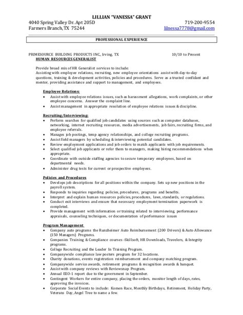 employee relations manager cover letter employee relations