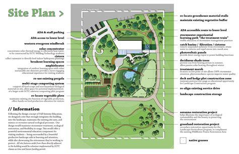 site plan design usgbc students leed the way dctc news