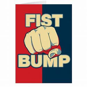 Fist Bump Greeting Cards Zazzle