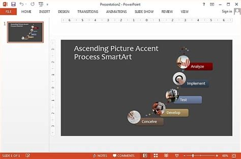 Microsoft Office Smartart Templates by Free Smartart Picture Diagram Templates For Powerpoint