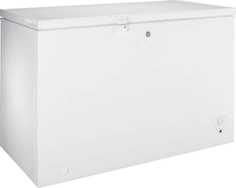 fcmphww ge  cu ft manual defrost chest freezer white