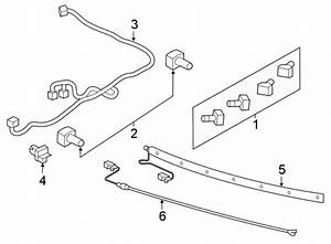 Ford Explorer Parking Aid System Wiring Harness  Spot