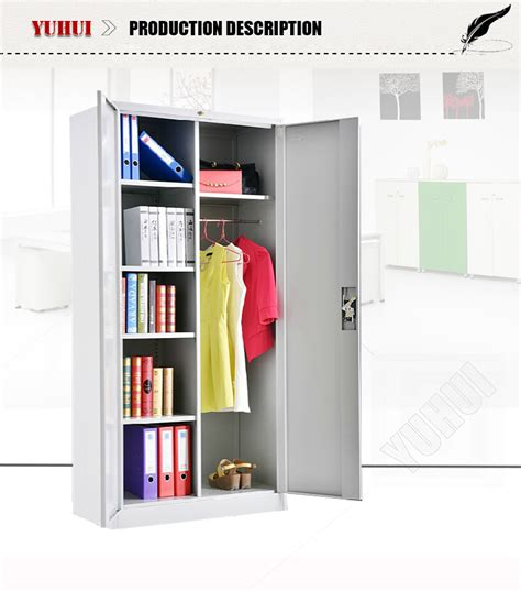 Cloth Cupboard Price by Favorable Price Multi Function White Metal Steel Cupboard
