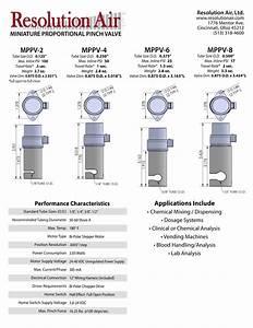 Miniature Proportional Pinch Valves  Resolution Air M