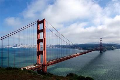 Bridge Gate Golden Landmarks Famous Most Sea