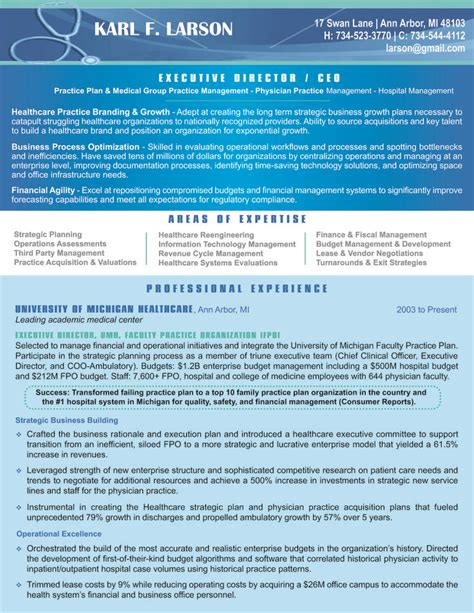 Healthcare Executive Resumes by 1000 Images About Resumes Cover Letters On