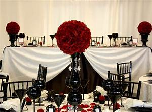 tbdress blog a dream come true with a black white red With black and red wedding ideas