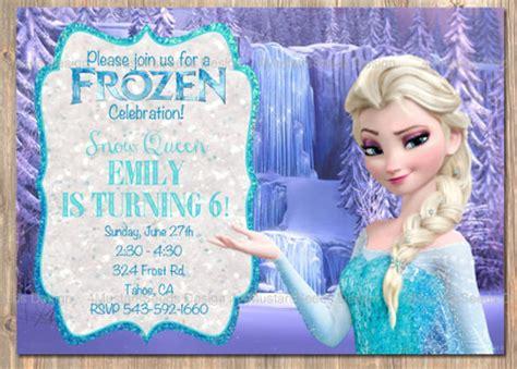 frozen invitation template cyberuse