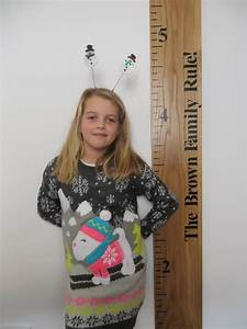 The Real Ruler Height Chart Company Wooden Ruler Height Chart Company Baby Goods Kids Goods