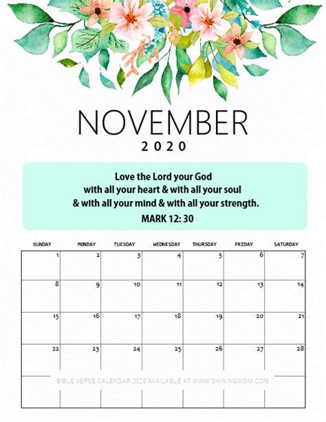 desk calendar printable  bible verses