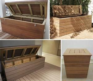 Banc Coffre Bois : option banc coffreoption banc coffre panorama terrasses en bois paris ile de france ~ Teatrodelosmanantiales.com Idées de Décoration