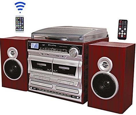 Cd Cassette Recorder by Techplay Odcr2110 High Power 30w Rms Retro Classic