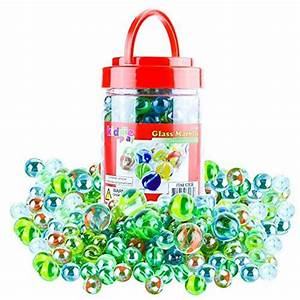 Kiddie Play Glass Marbles For Kids Bulk 194 Marbles Game