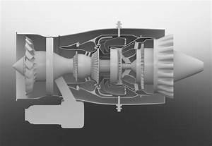 Pw615 Vlj Jet Engine    3d Diagram By Charles Floyd At Coroflot Com