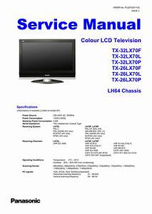 Service Manual Colour Lcd Television Tx