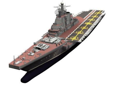 vertices software soviet aircraft carrier kiev 3d model 3dsmax files free