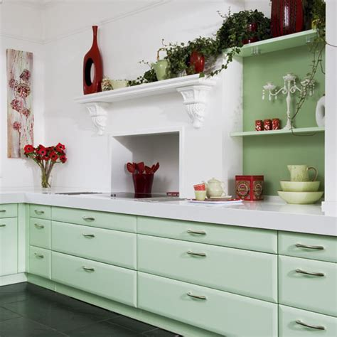 mint green kitchen accessories kitchen with mint green cabinets white wall kitchen 7521