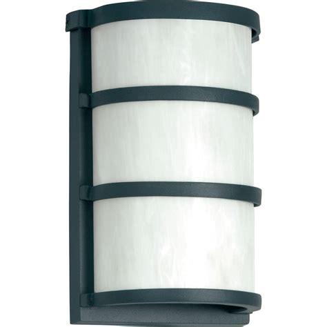 sylvania 5 watt wall mount outdoor matte gray led light