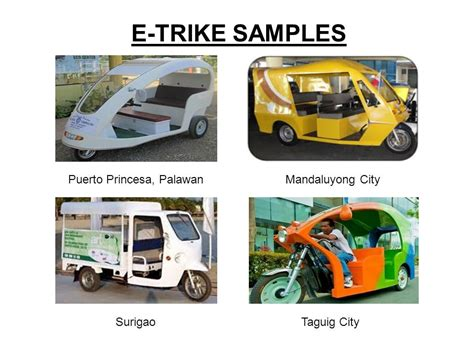 philippine tricycle design e trike electric tricycle design contest technology 2476
