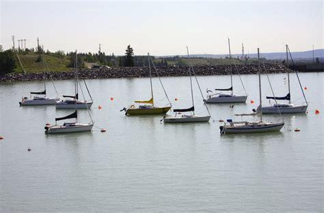 Fishing Boat For Sale In Alberta by Ghost Lake Marina Near Calgary Alberta