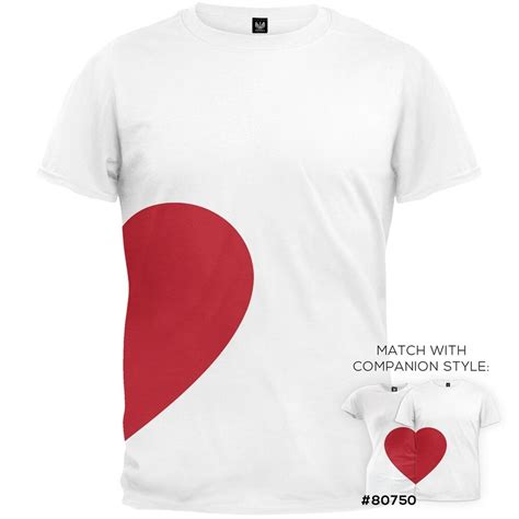 valentines day  heart matching couples adult mens