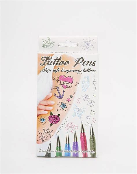 paladone stylos pour tatouages temporaires tattoos