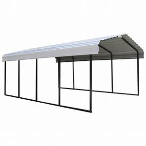Arrow Storage Products 12 Ft X 20 Ft X 7 Ft White Roof