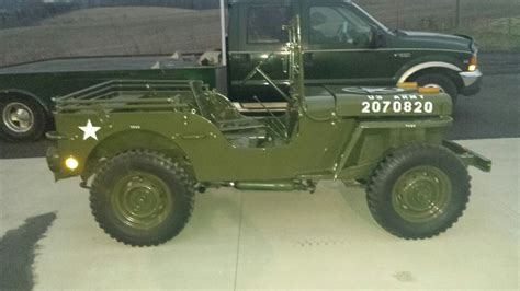 army jeep 1946 army jeep willys classic cool parade jeep put around