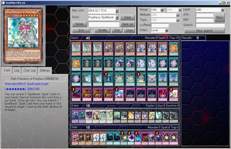 yu gi oh ygopro tcg deck prophecy spellbook by ygopropro on deviantart