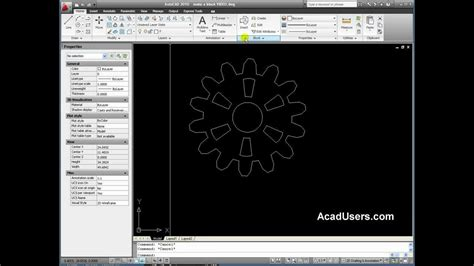 How To Create A Block In Autocad 2010 Youtube