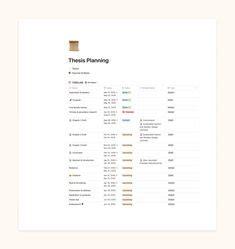 planning organizing images