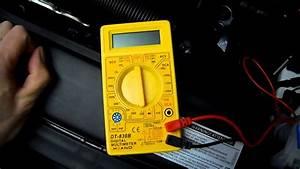 Spannung Messen Multimeter : how to batteriespannung am auto messen anleitung batterie pr fen youtube ~ A.2002-acura-tl-radio.info Haus und Dekorationen