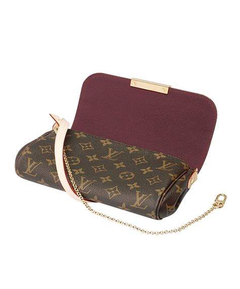 replica louis vuitton monogram favorite  brown