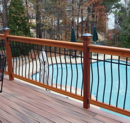 Wood Porch Railing Systems by 7 Things To Think About When Installing Deck Railings