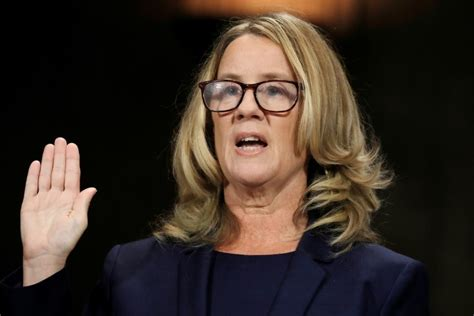 Blasey Ford Says '100 Percent' Certain Kavanaugh Assaulted