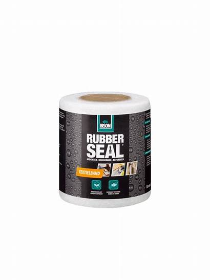 Rubber Seal Bison Textielband 10cm 10m Poly