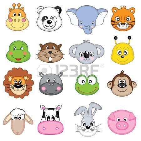 ilustraci n de la colecci n icon animales ilustraciones fieltro posavasos