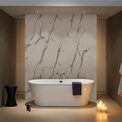 bb nuance calacatta statuario marble shower wall boards
