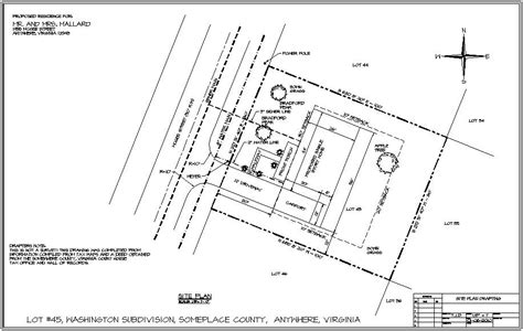 site plans technical drawing courses