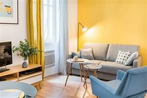 Décoration Salon Jaune Moutarde : d coration appartement paris marion alberge d coratrice ~ Melissatoandfro.com Idées de Décoration