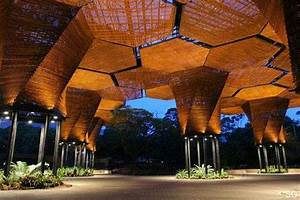 organic architecture orquideorama gardens