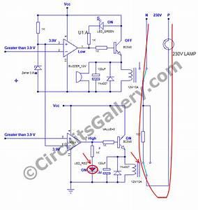 Voltage Stabilizer Circuit Diagram Ac Voltage With Low Voltage Alarm