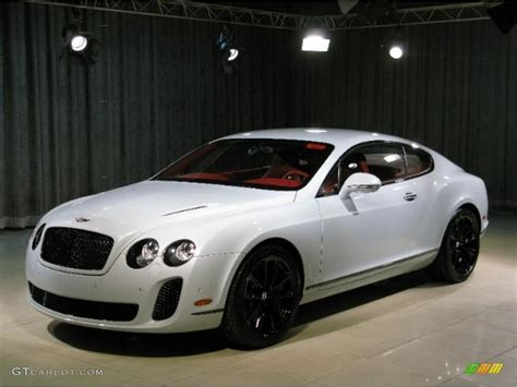 White Bentley by 2010 White Bentley Continental Gt Supersports