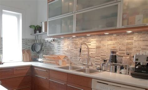 Neutral Kitchen Backsplash  For The Home  Pinterest